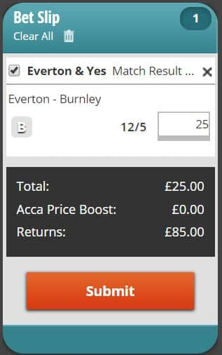 Everton-BTTS Everton vs Burnley Predictions and Betting Tips: Preview, Odds and H2H Stats