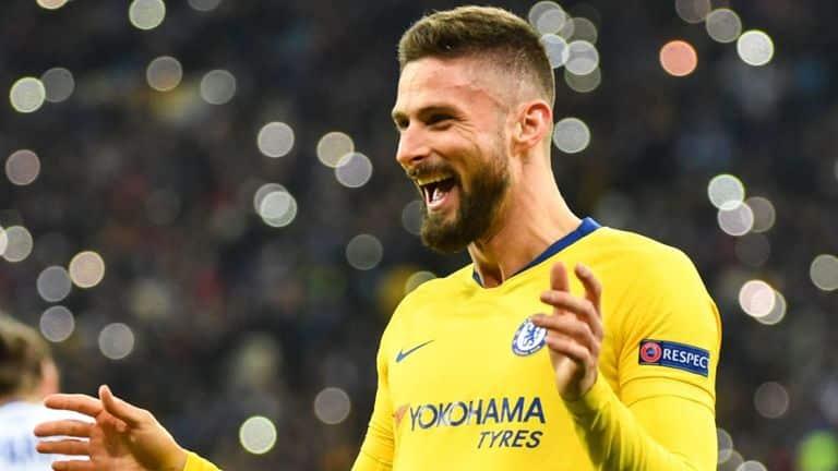 Giroud-Europa-League 2019 Europa League Final Stats - Chelsea vs Arsenal