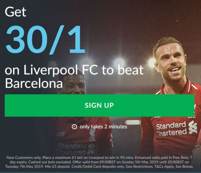 Liverpool vs Barca betting tips
