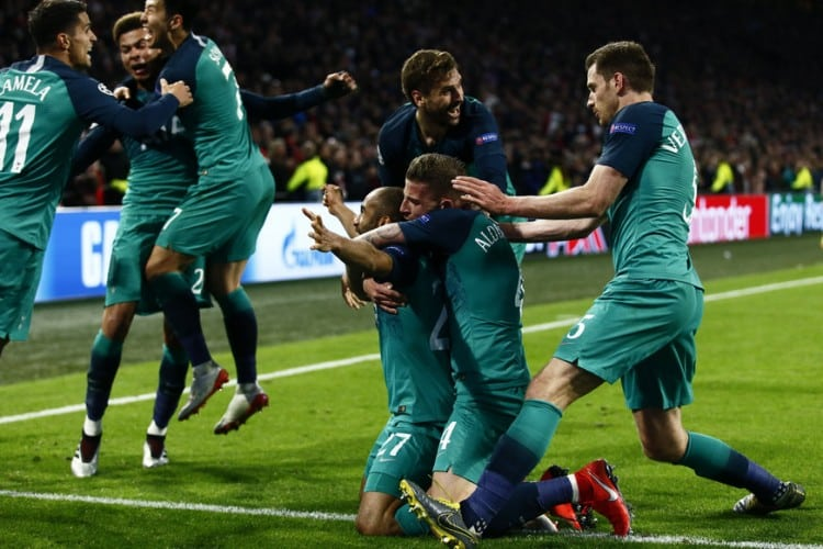 Tottenham 2019 Champions League final