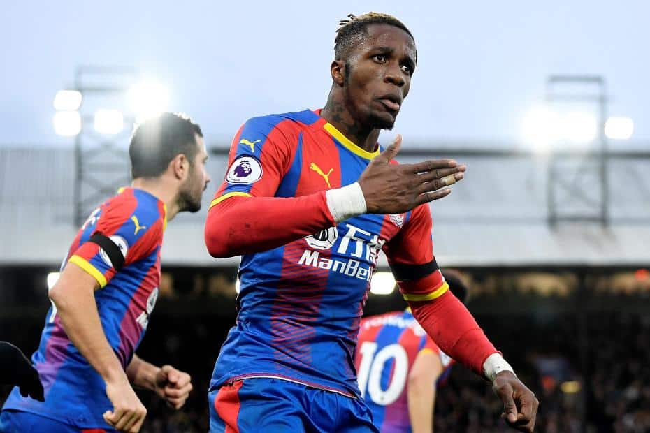 Wilfried Zaha next club odds