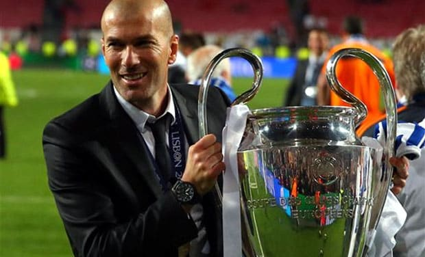 zidane-ucl-trophy UEFA Champions League Trivia: 20 Facts You Didn't Know!