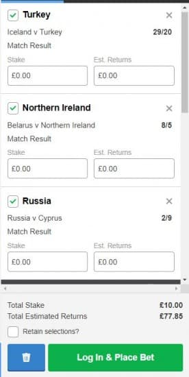 Acca-11th-June Football Acca Tips for Tonight's Euro 2020 Qualifying - 11/06/19