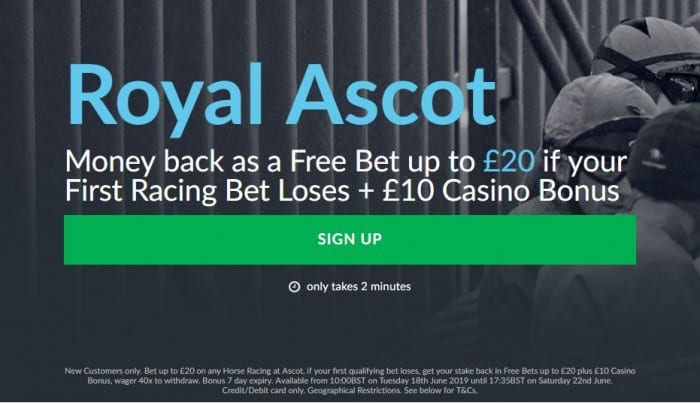 Ascot-Bet-Victor Win £200 in CASH Risk Free on our 2.30 Royal Ascot Tip Today