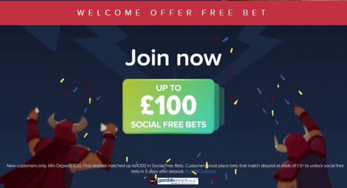 Betbull free bet