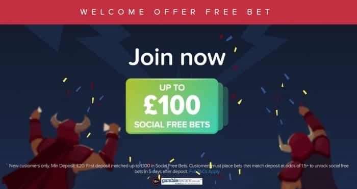BetBull-100 BetBull £100 Sign-up Offer - August 2019