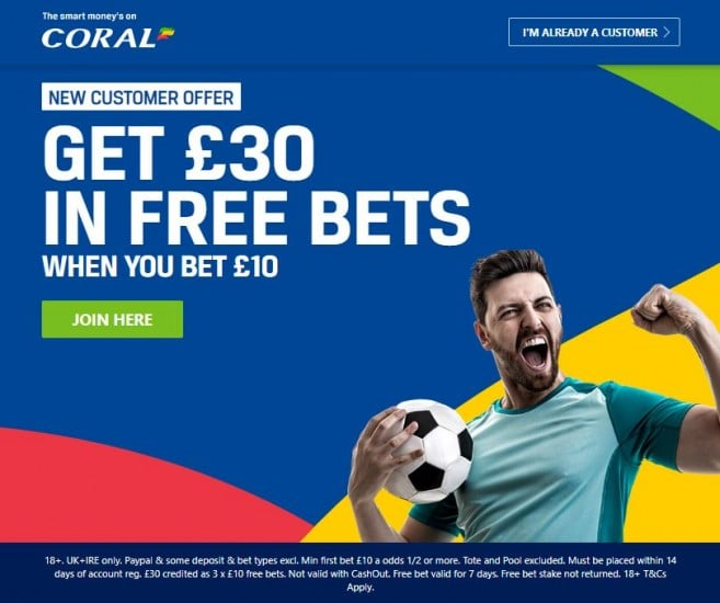 Coral-30-new Anytime Goalscorer Tips