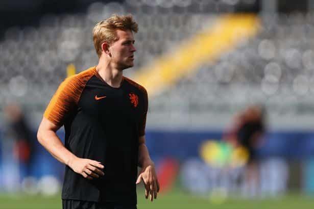 De-Ligt International team-mate tells Matthijs de Ligt who to sign for