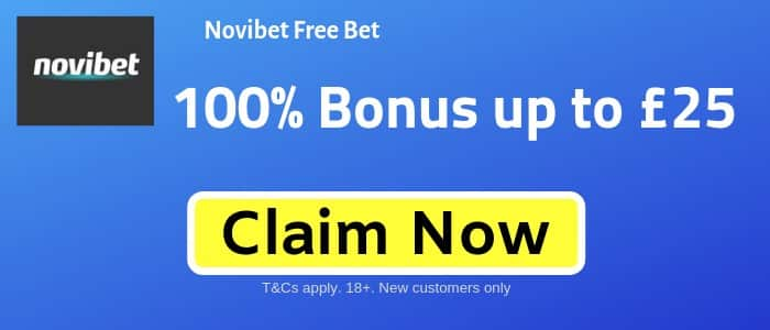 Novibet-Sign-up-Offer Euro 2020 Qualifying Accumulator for Tonight - win £115 from a free bet