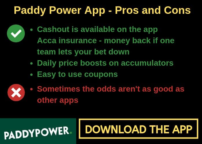 Paddy-Power-app The Best Betting Apps for Football Accumulators