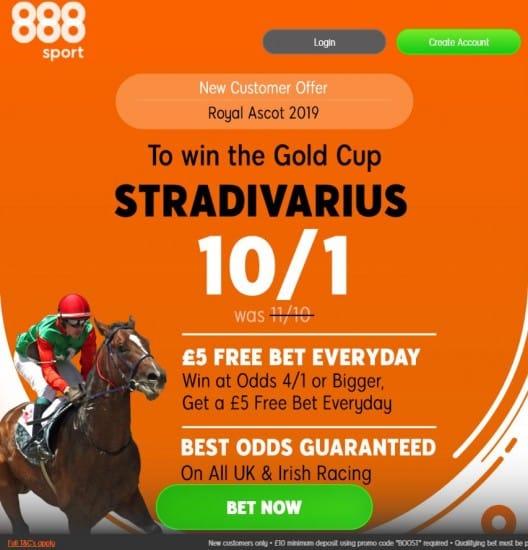 Strad-888 Royal Ascot Day 3 Free Bets