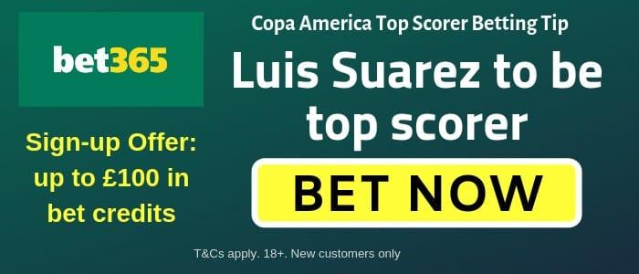Suarez top goalscorer odds