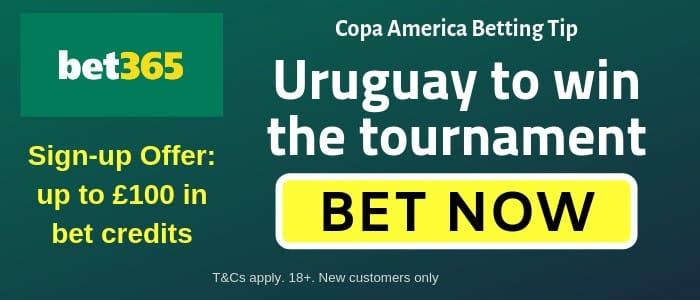 Uruguay to win Copa America