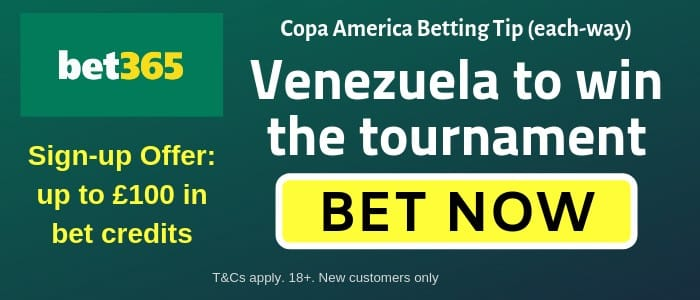 Venezuela-Copa-America Copa America 2019 Predictions, Betting Tips, Key Dates and Odds