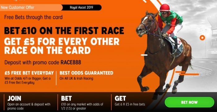 ascot-888sport Royal Ascot Day 5 Free Bets