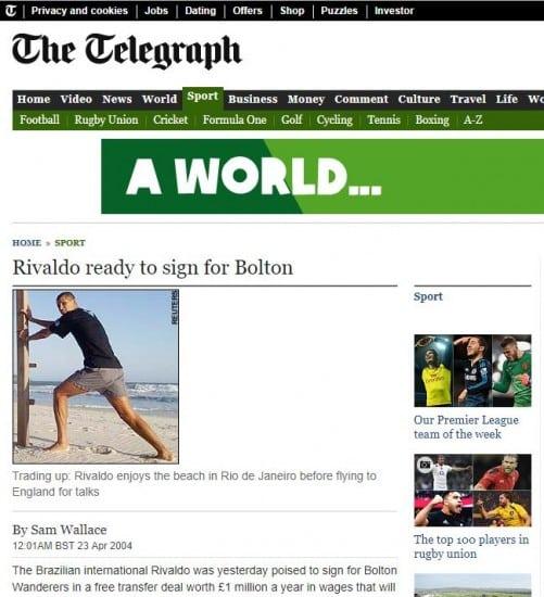 rivaldo-bolton Is Ribery to Sheffield United the most bizarre Premier League transfer rumour ever?