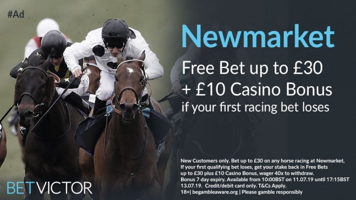 Newmarket-Twitter Newmarket July Festival Day 1 Betting Tips - Thursday 11th July