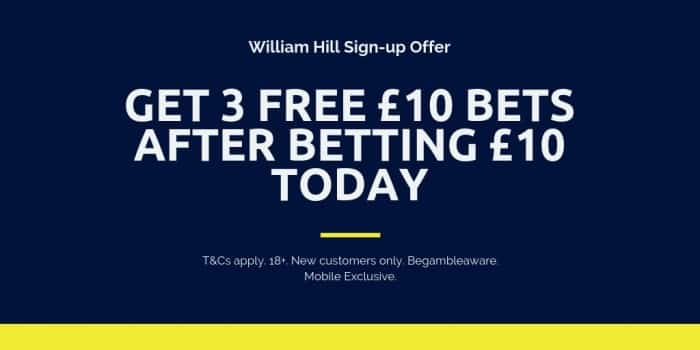 Will-Hill-sign-up-10-get-30 Today's Horse Racing NAP