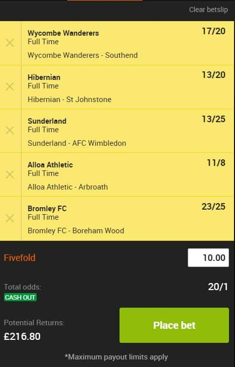 Acca-24th-August Saturday's 3pm Football Accumulator Tips for 24th August