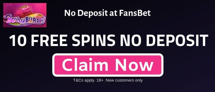 BerryBurst-1 NO DEPOSIT - 10 Berry Burst Slot Free Spins