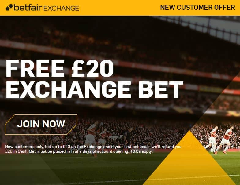 Betfair sign-up bonus