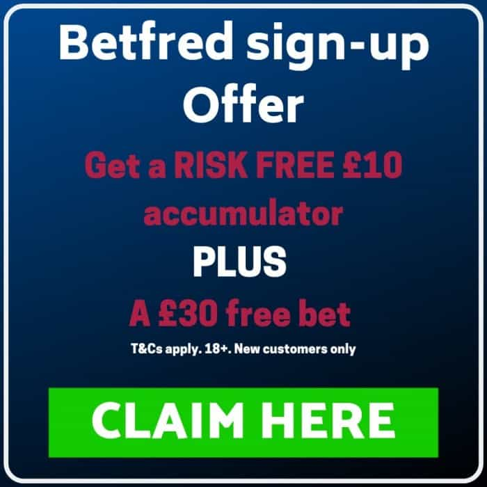 Betfred sign-up offer