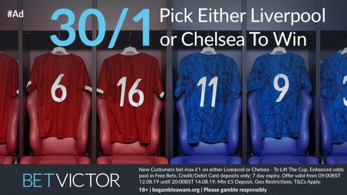 Chelsea v Liverpool Super Cup