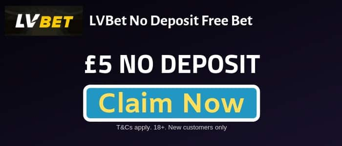 LVBET No Deposit Free Bet Sign-Up Offer - August 2019