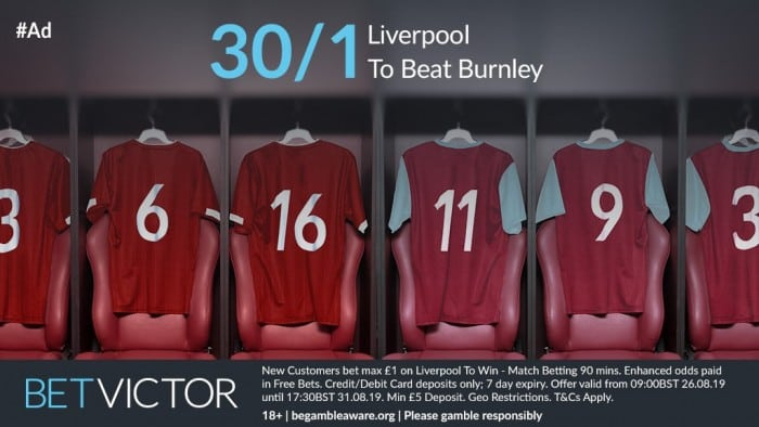 Liverpool-30s-Burnley Burnley vs Liverpool Predictions and Betting Tips