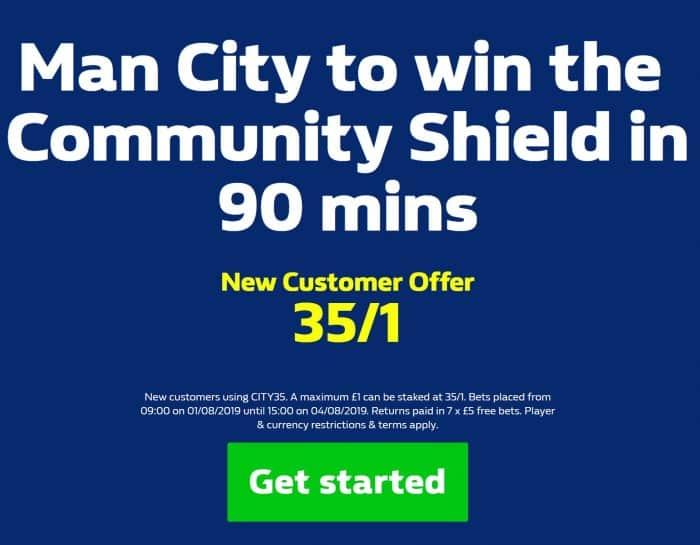 Man City Community Shield price boost