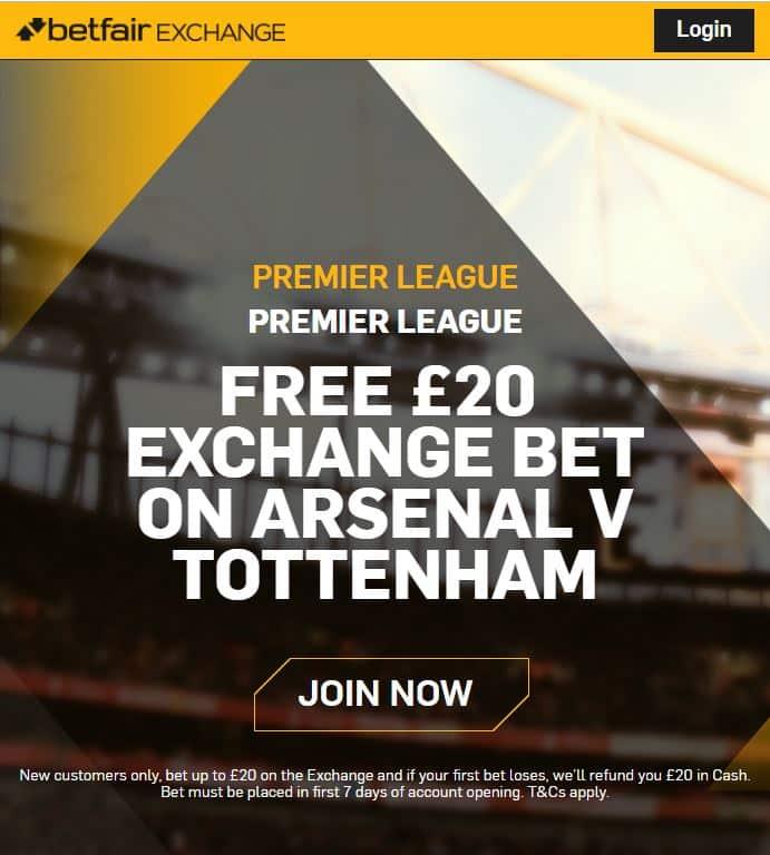 NLD-Betfair Arsenal vs Tottenham Predictions and Betting Tips