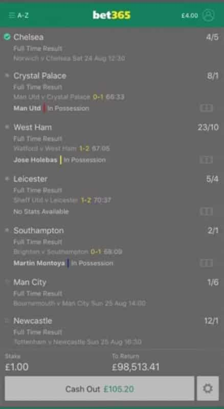 accumulator bad cash out