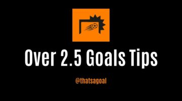 Over 2.5 goals tips