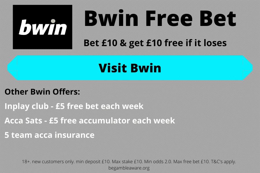 Bwin free bet bonus