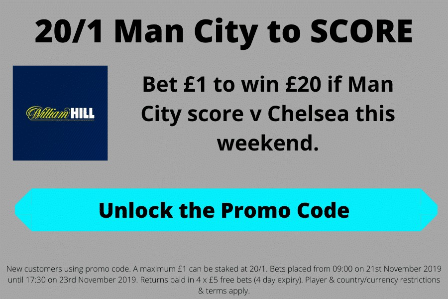 Man City to score odds boost