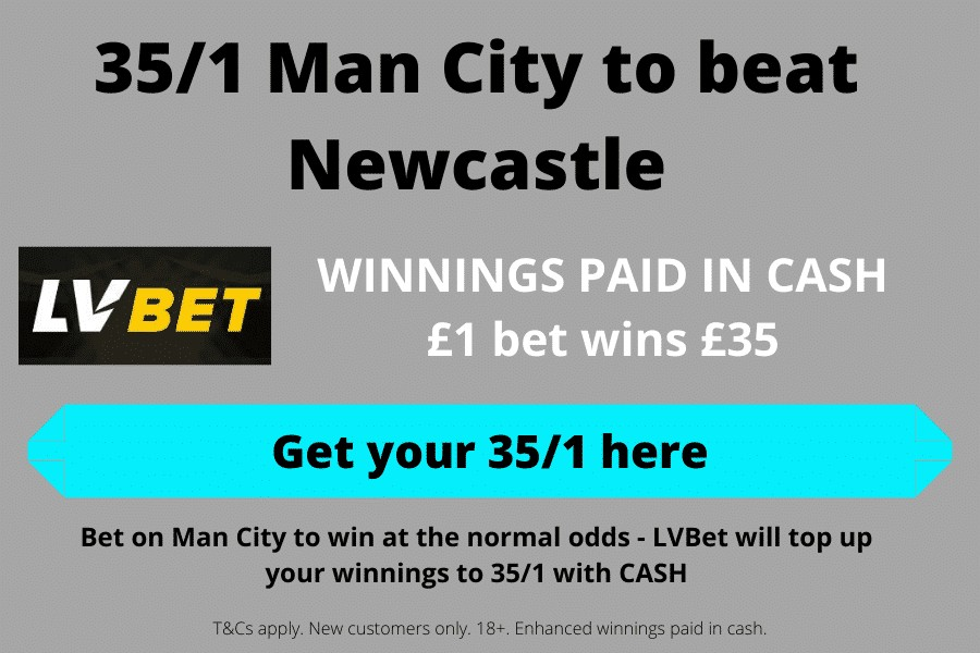 Man City price boost