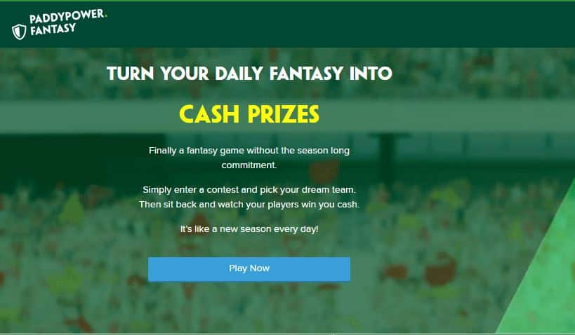 Paddy Power Fantasy Football cash