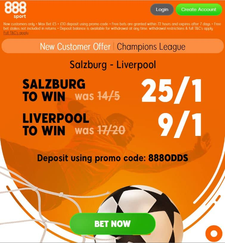 Salzburg vs Liverpool betting tips