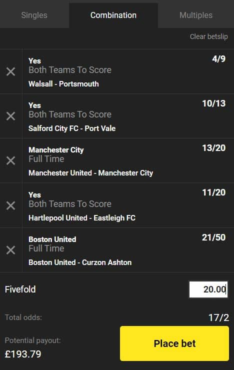 acca tips today