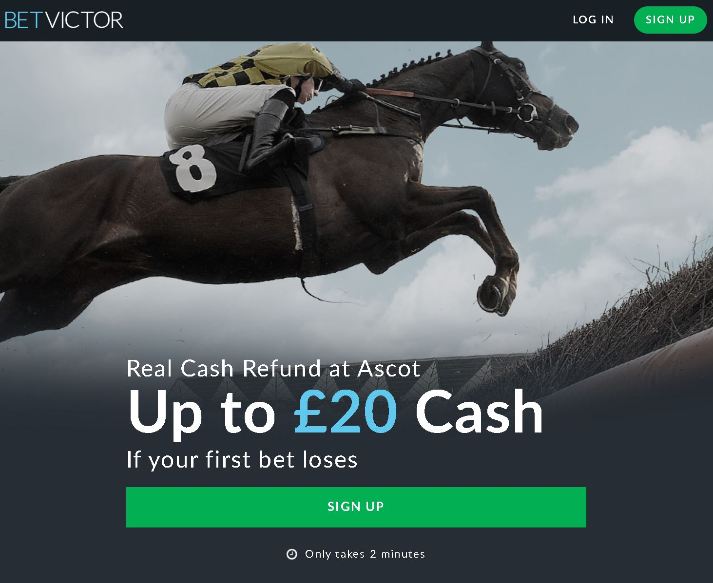 Bet Victor sign-up offer