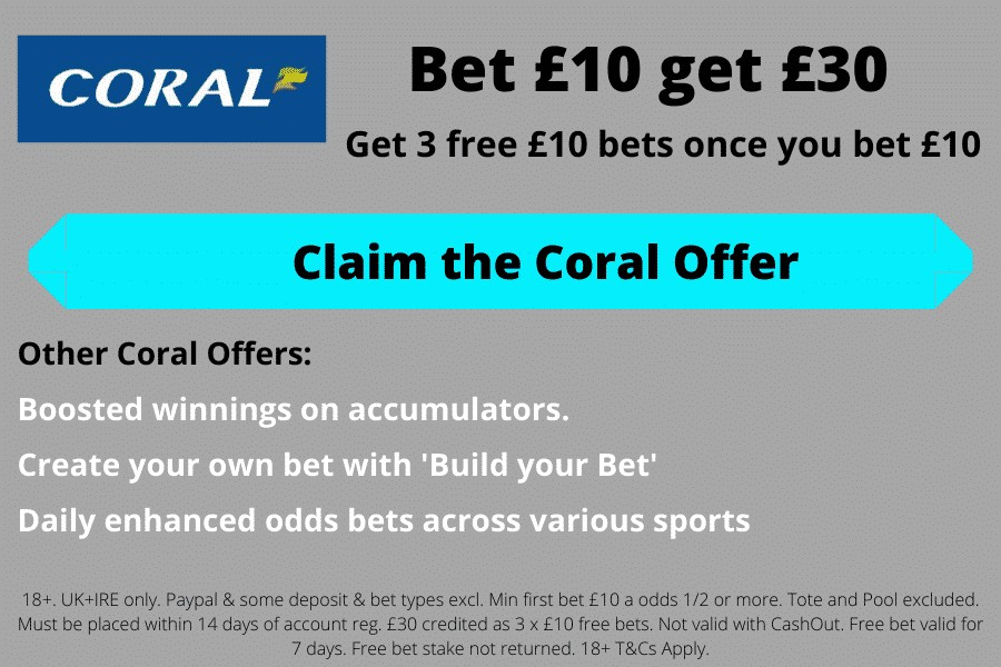 Coral sign-up bonus today