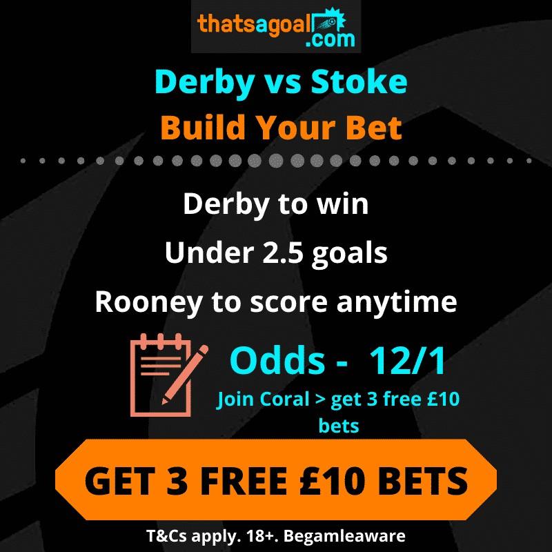 Derby vs Stoke betting tips