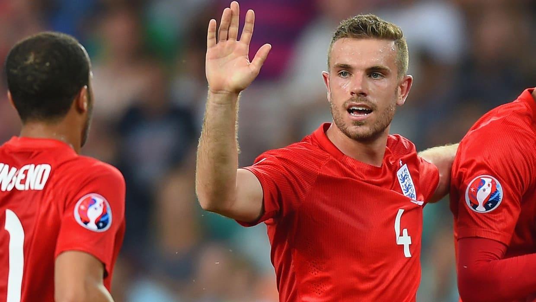 Jordan Henderson England captain