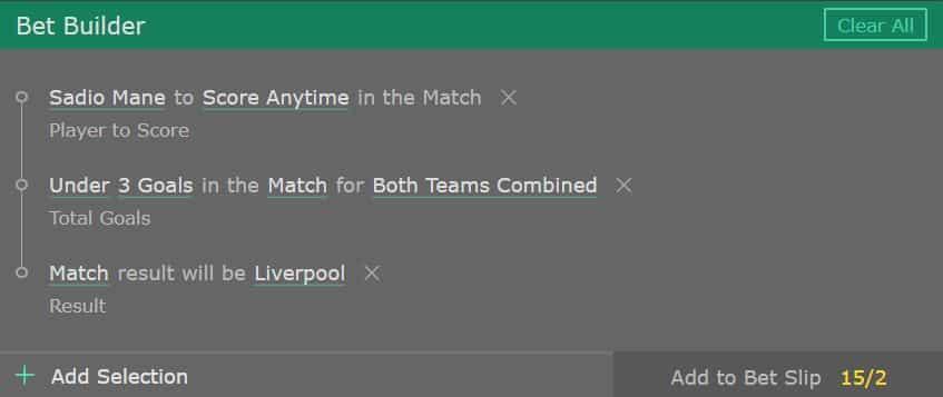 Liverpool v Man United tip