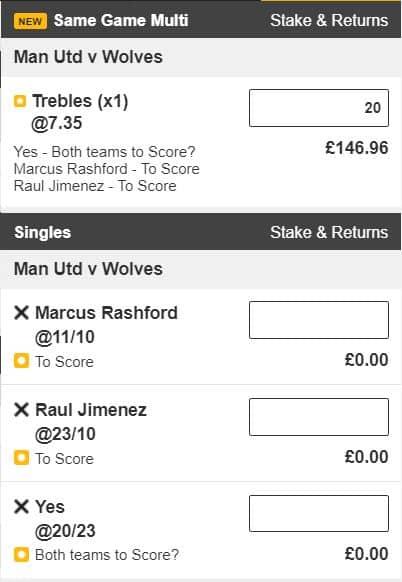 Man Utd vs Wolves tips