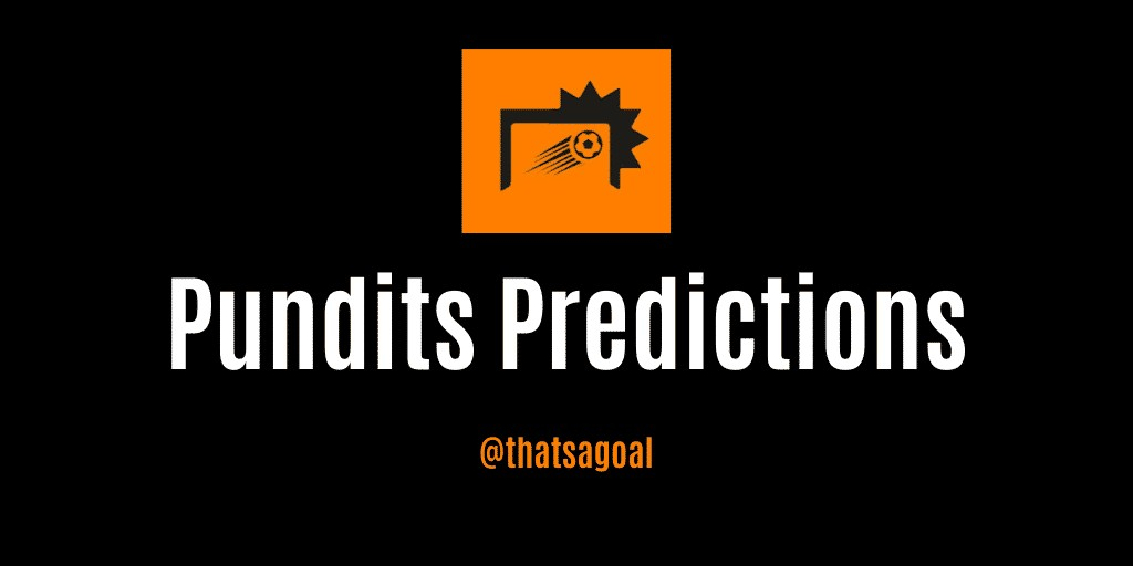 Pundits predictions