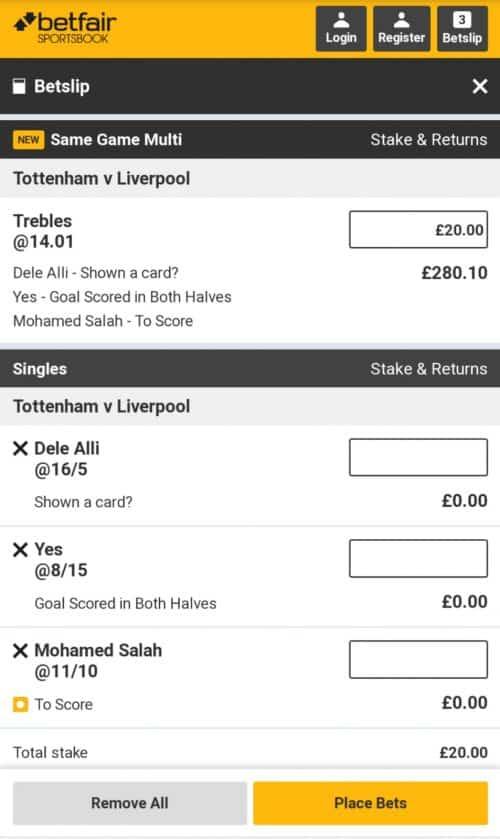 Tottenham vs Liverpool predictions