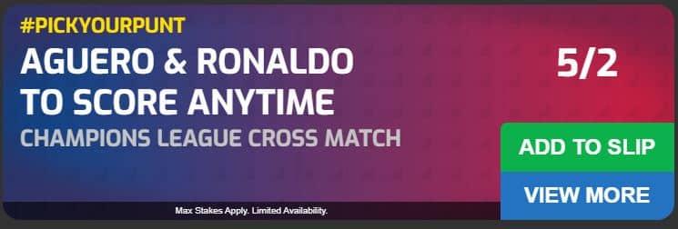 Aguero & Ronaldo both to score