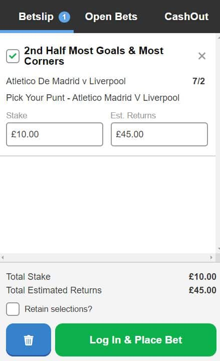 Atletico v Liverpool betting tips