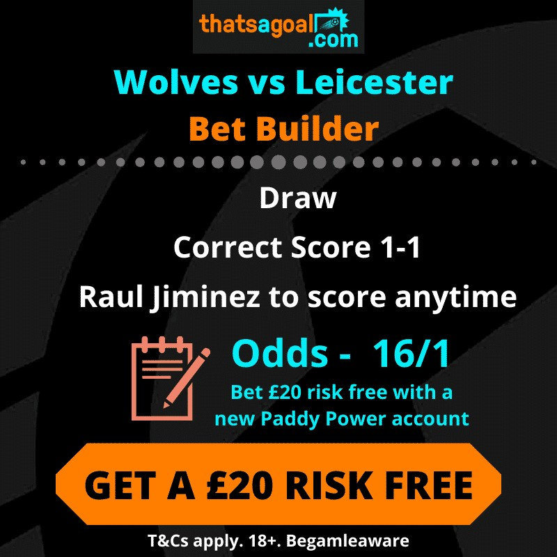 Wolves vs Leicester betting tips